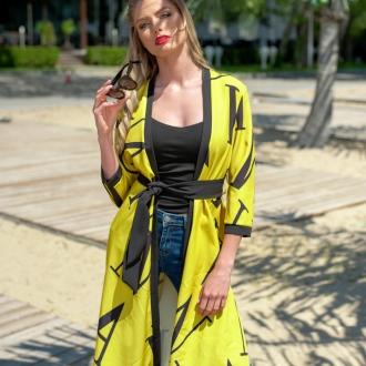 Блейзер жълто/черен
