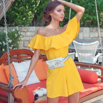 Къс гащеризон Yellow Mood by Prive