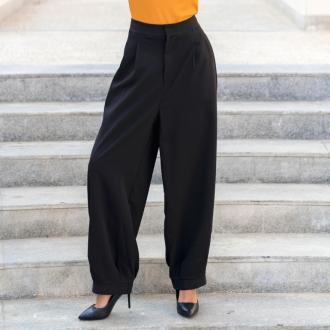 Панталон черен широк