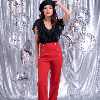 Панталон Red Emotions с висока талия