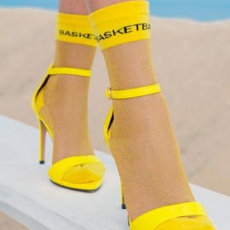 ЧОРАПИ BASKETBALL в жълто