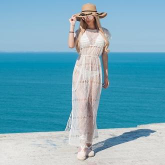 Плажна рокля от фина дантела Prive