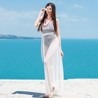 Плажна рокля - мрежа Prive