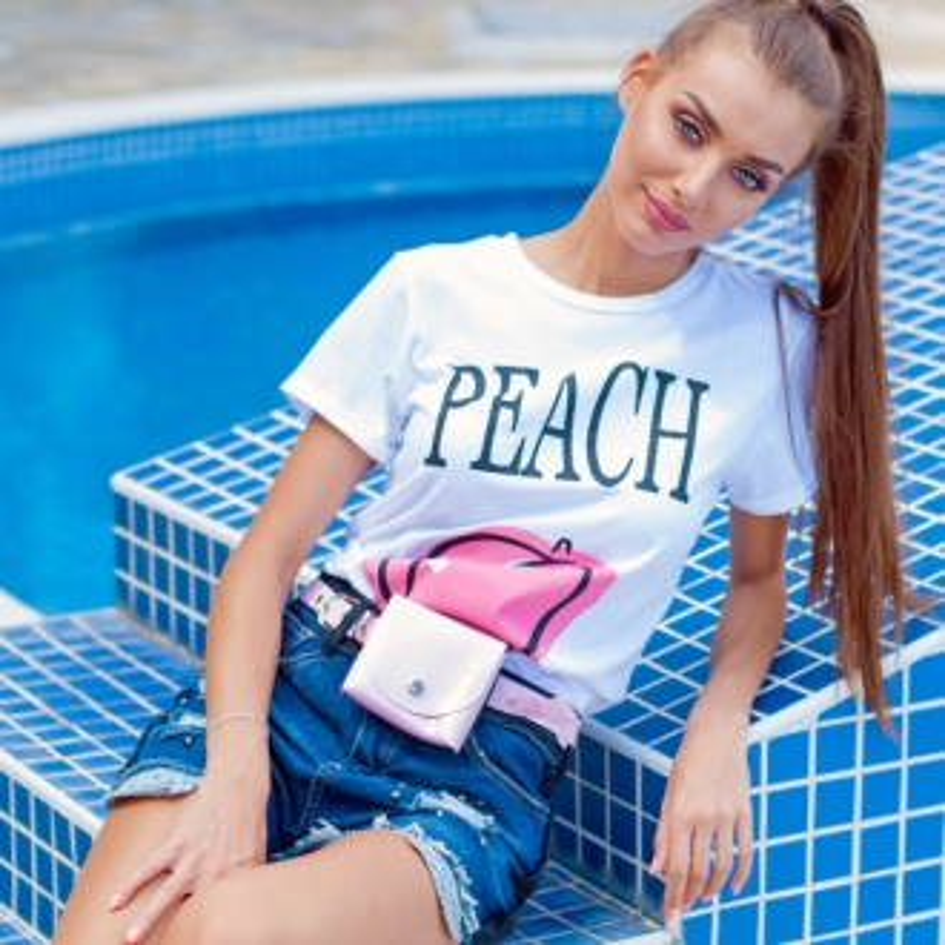 Тениска PEACH
