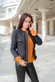 Елегантно сако с ресни и големи копчета -PRIVE-