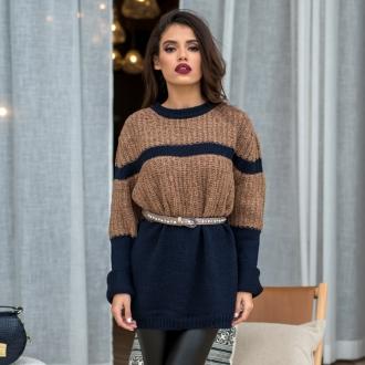 Пуловер Cappuccino - Oversized