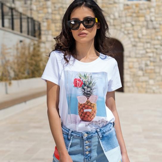 Тениска Bonjour Spring