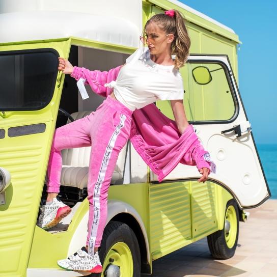 Спортен Панталон Corso Italia от Розов плюш