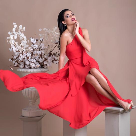 Рокля LUXURY RED DREAM