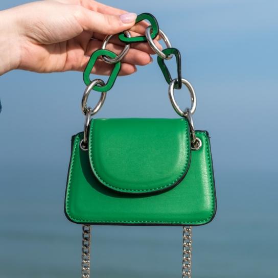 Мини чанта Green