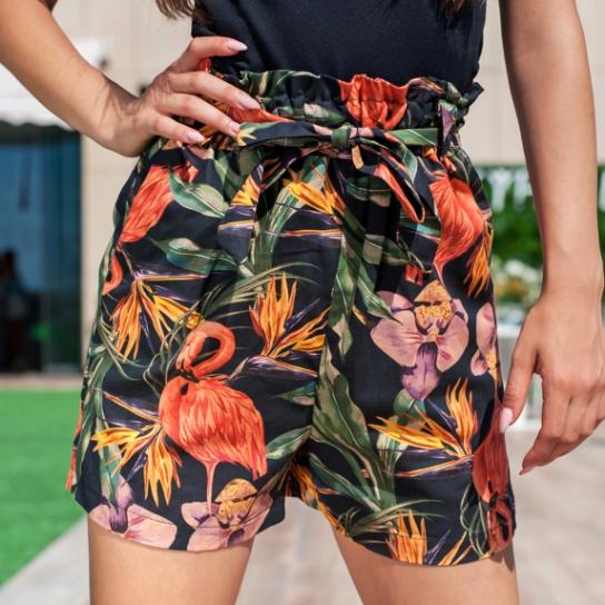 Къси панталонки Flamingo
