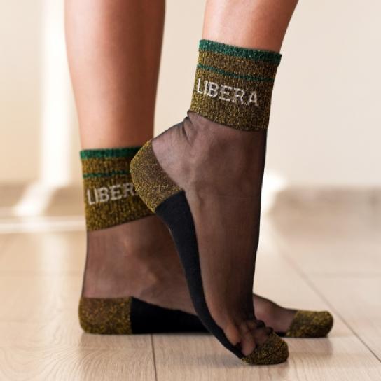 Чорапи LIBERA - жълти