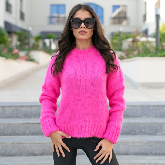 Пуловер Candy от мохер и вълна