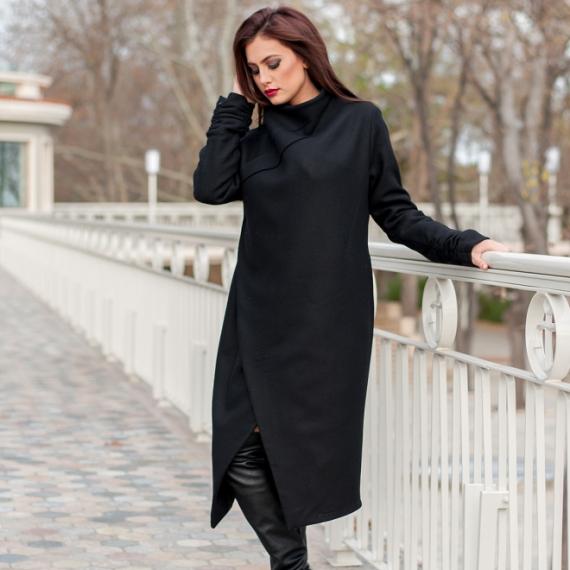 Луксозно палто PRIVE с два вида закопчаване
