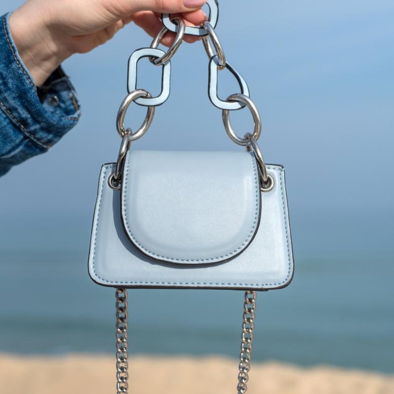 Мини чанта Blue