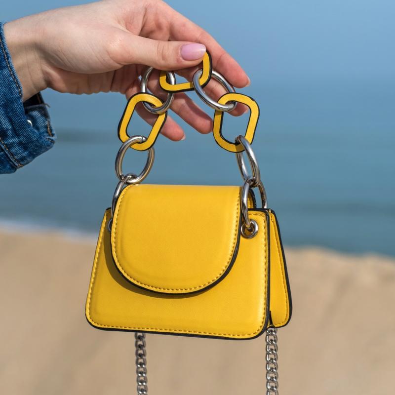 Мини чанта Yellow