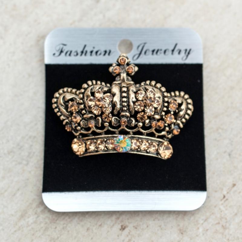 Брошка Golden Queen