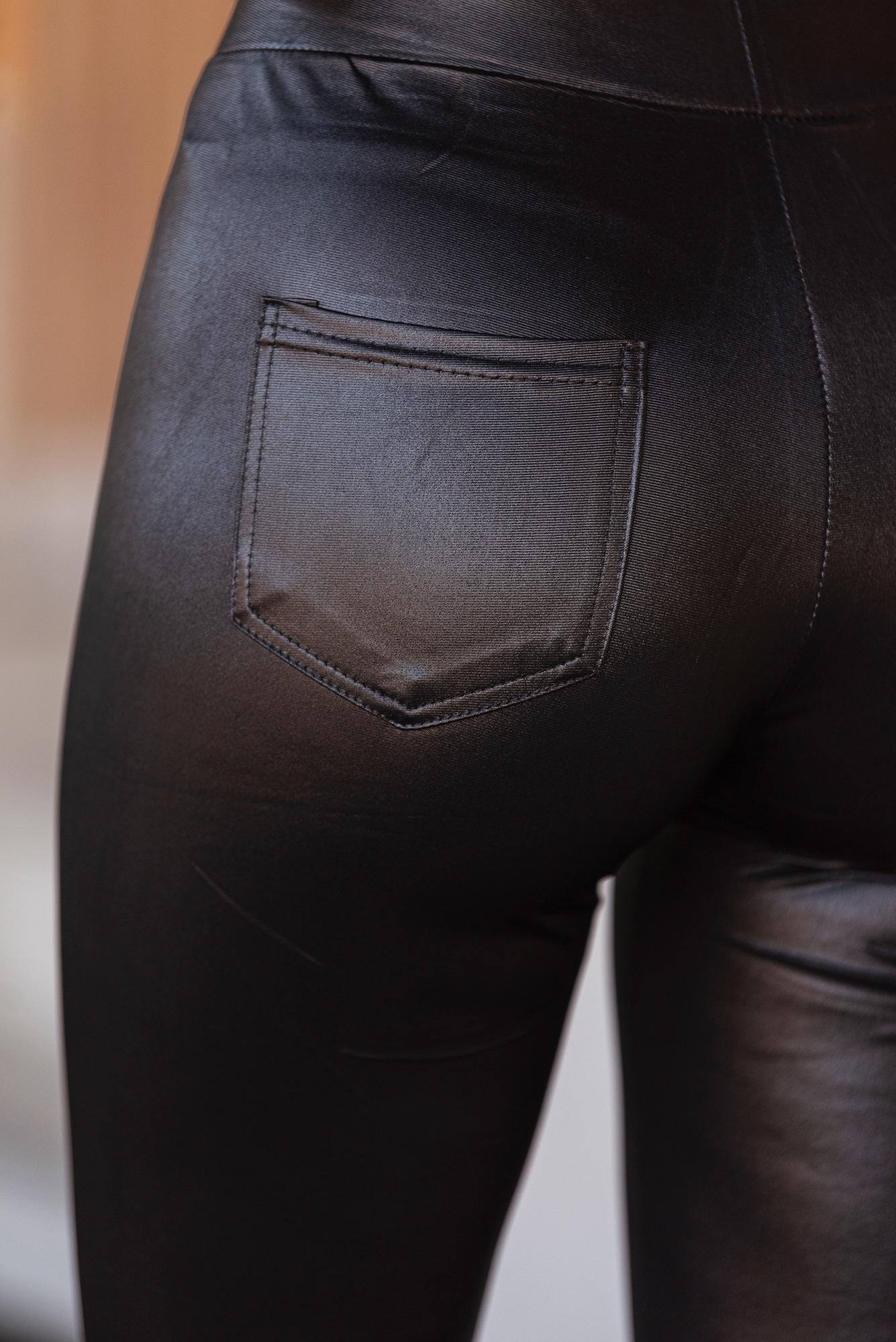 Клин черен с джоб