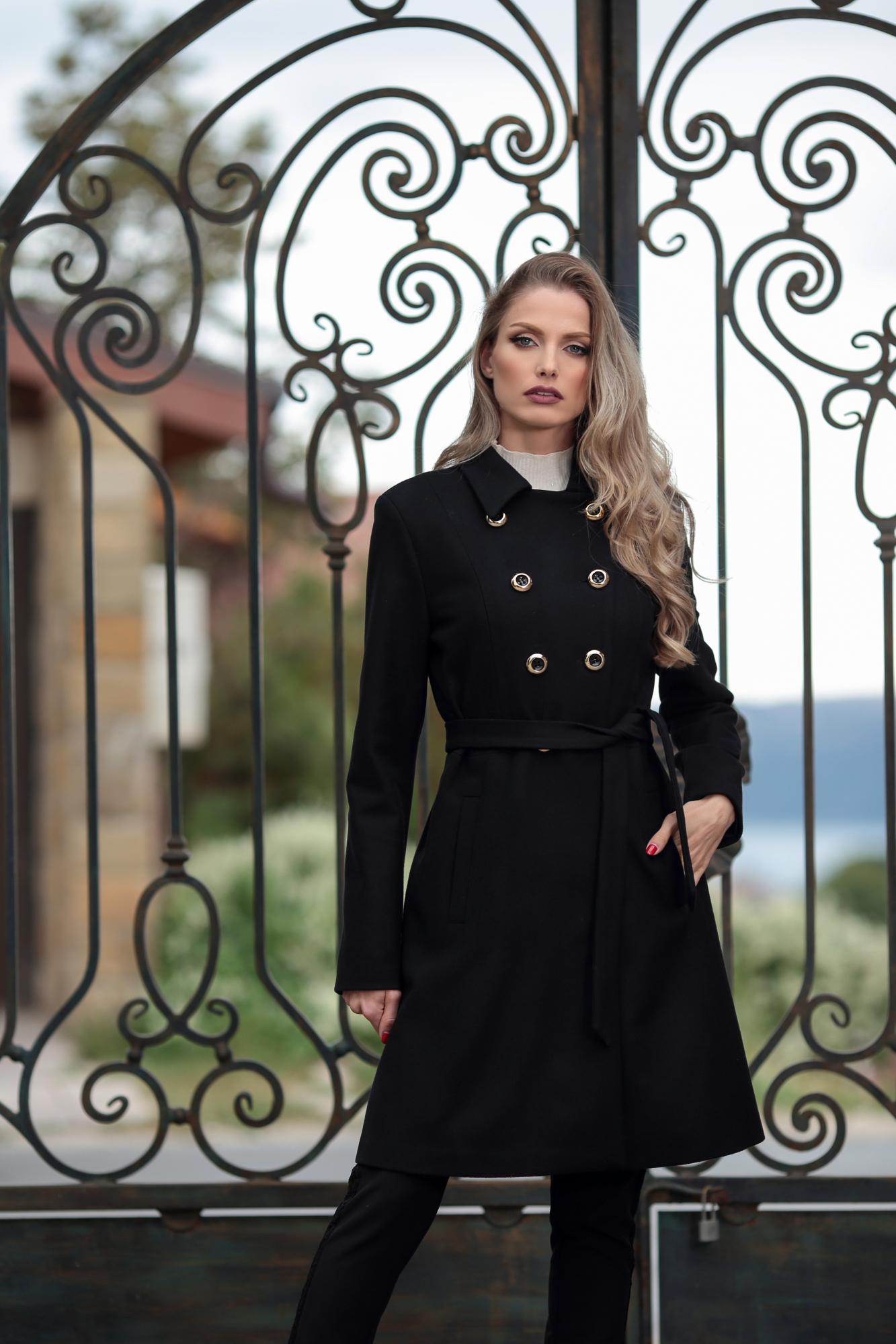 Палто Be Classy Black