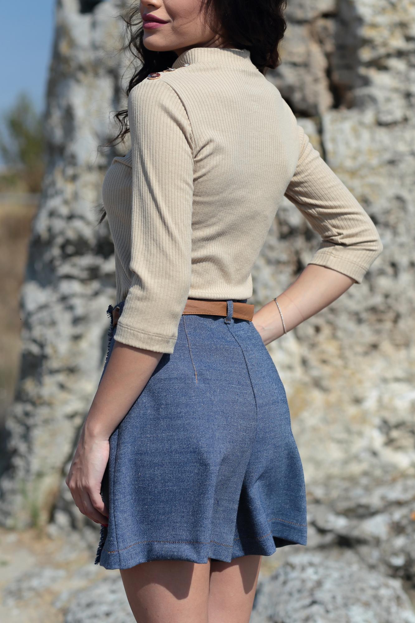 Панталонки Leather Detail