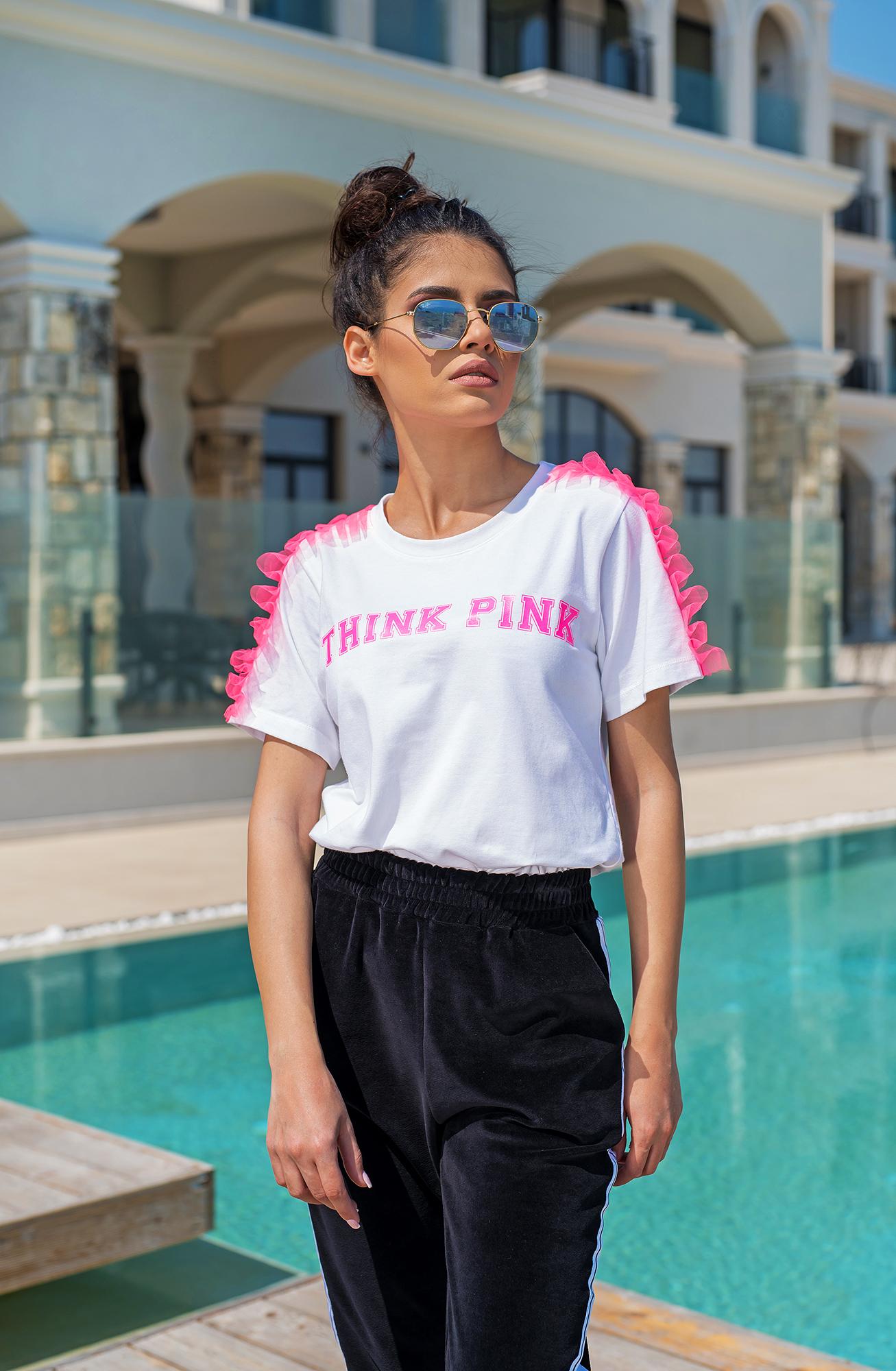 Тениска THINK PINK