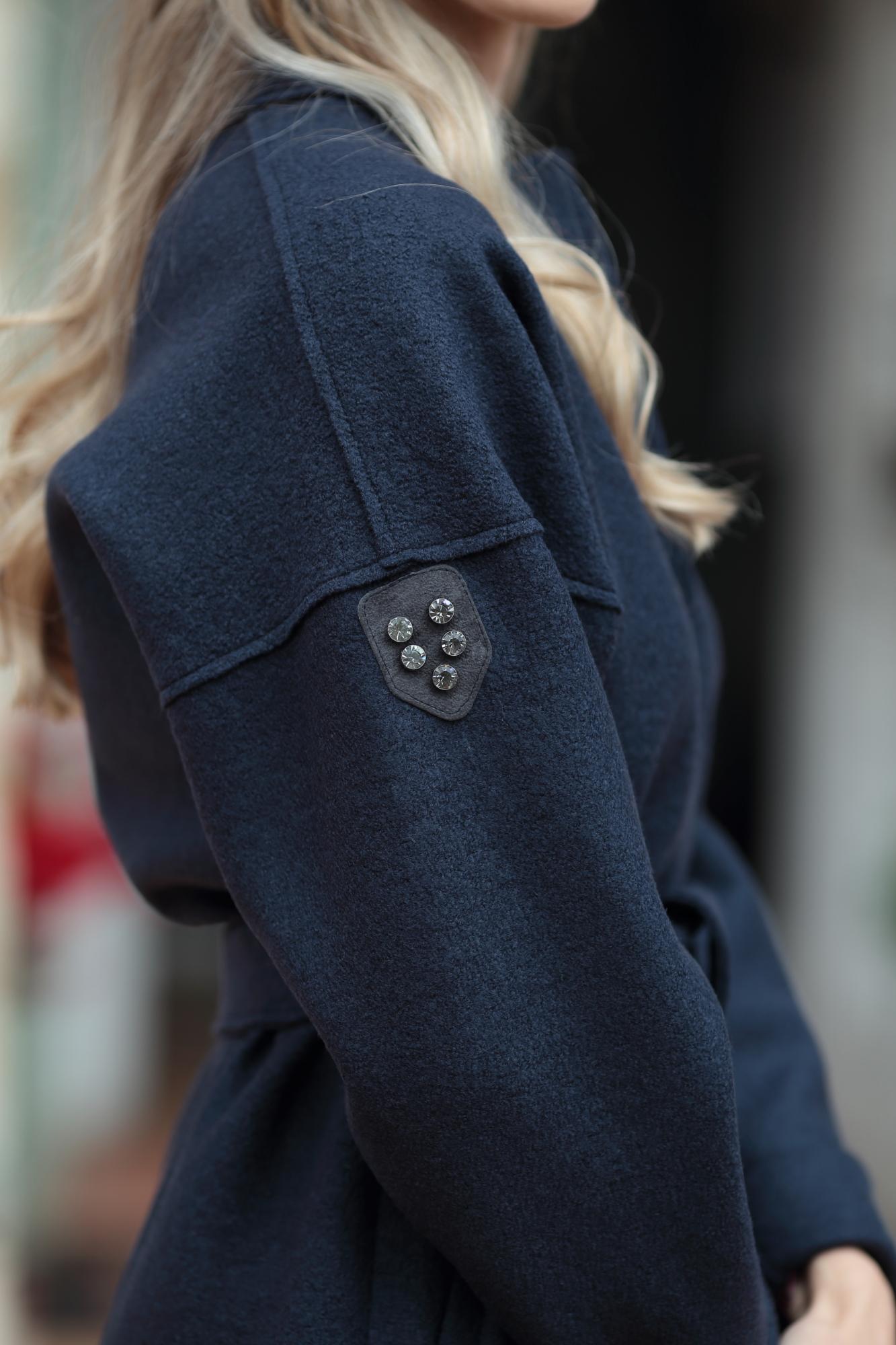 Палто Blue Trench Coat
