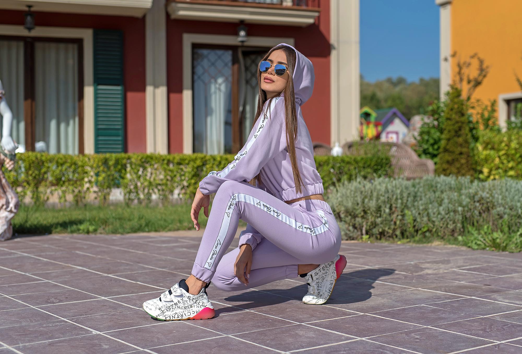 Спортна долница Corso Lavender