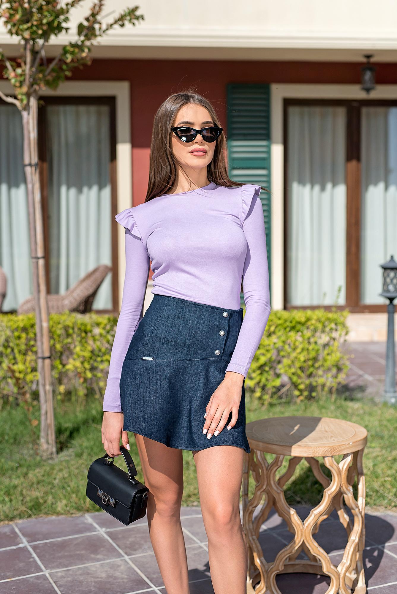 Блуза VIOLET CHIC от италиански памук