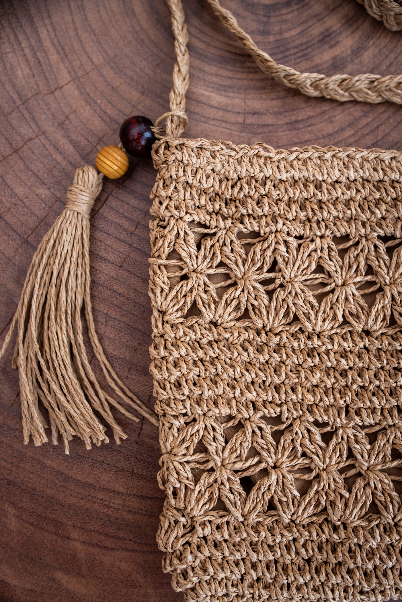 Малка чанта Paper braid