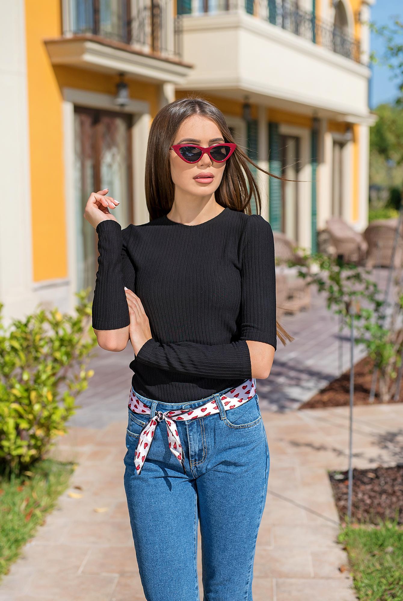 Блуза  BLACK CHIC от италиански памук