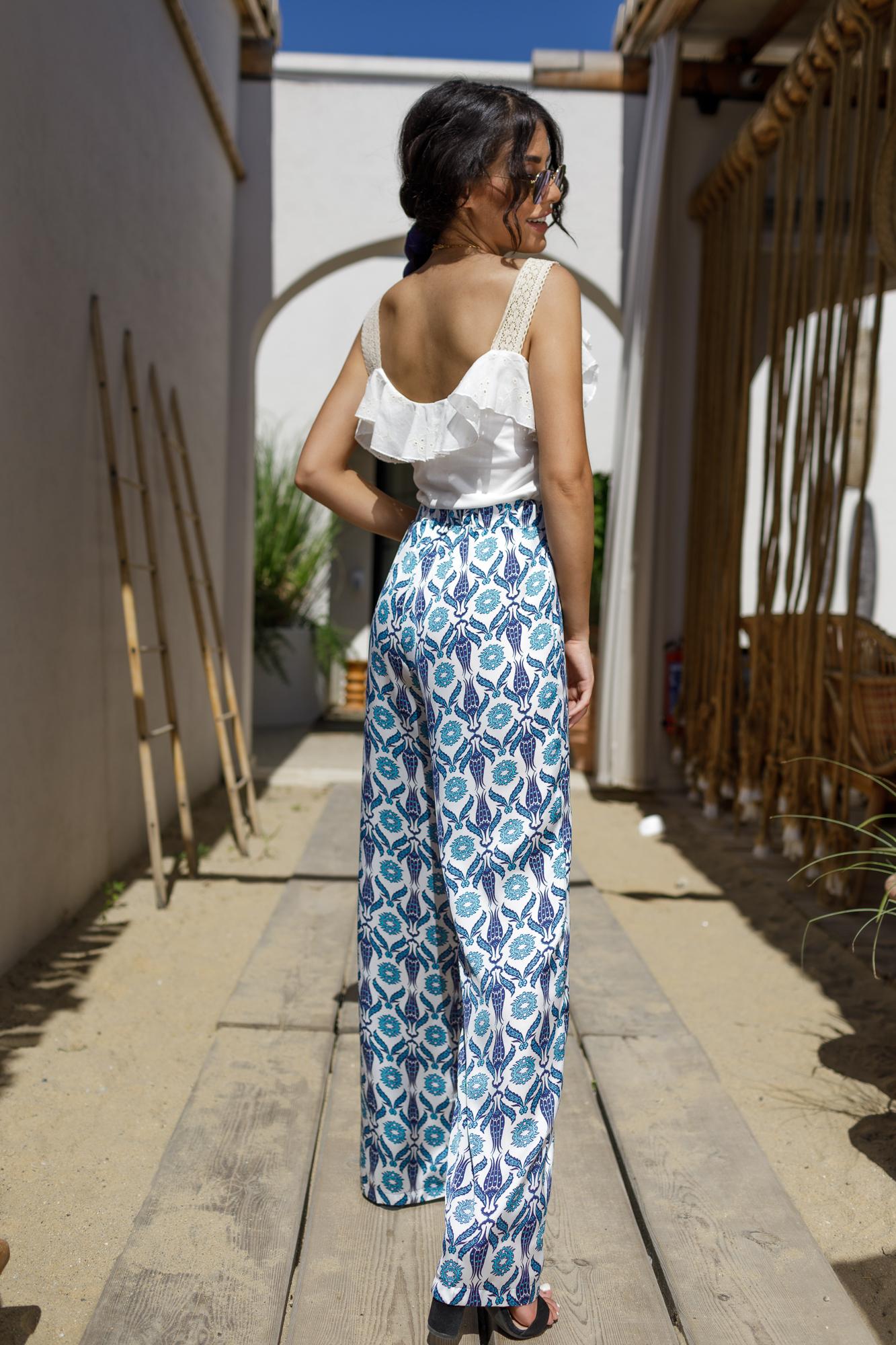 Панталон Blue Satin