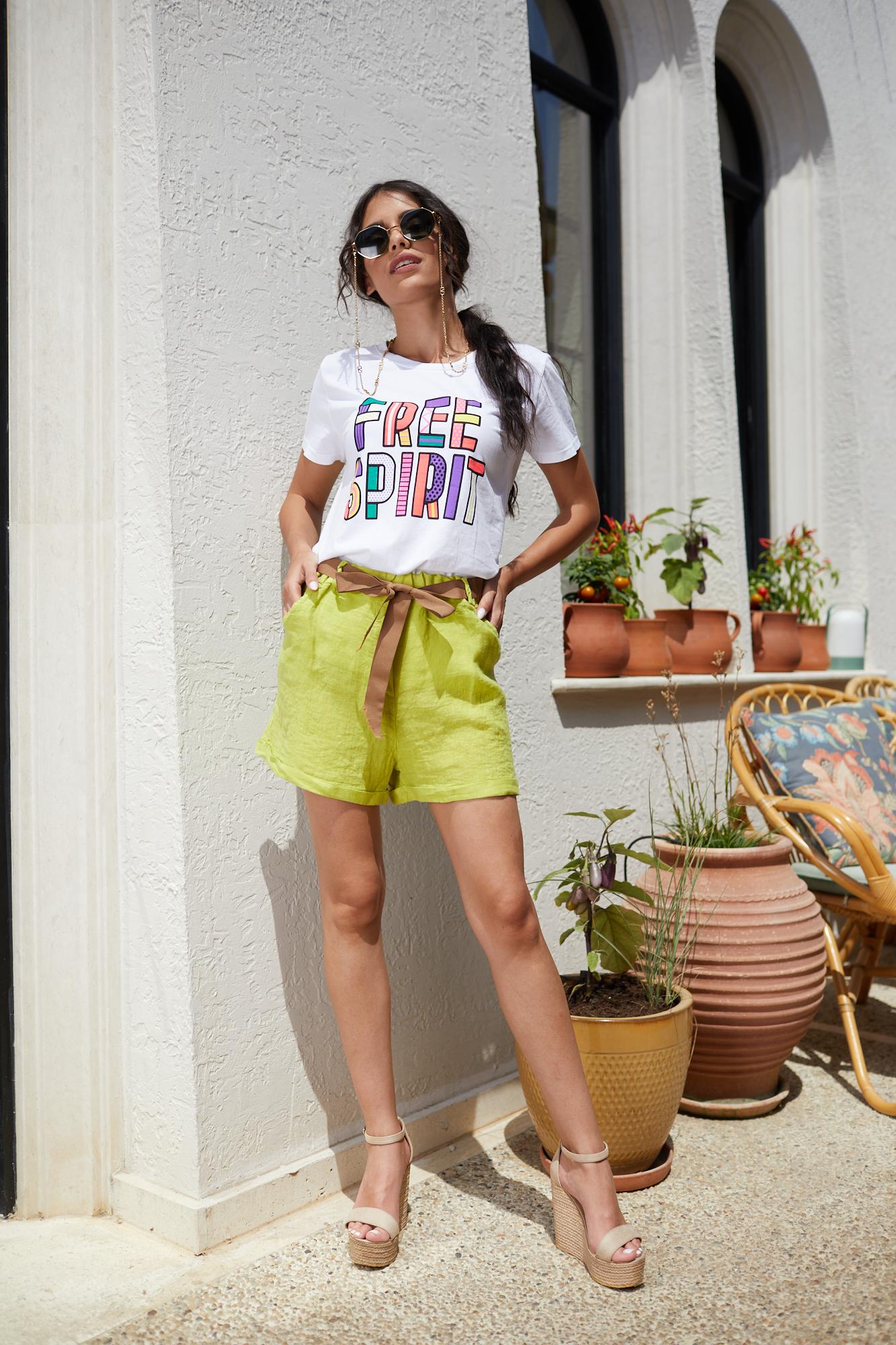 Панталонки от лен LIME