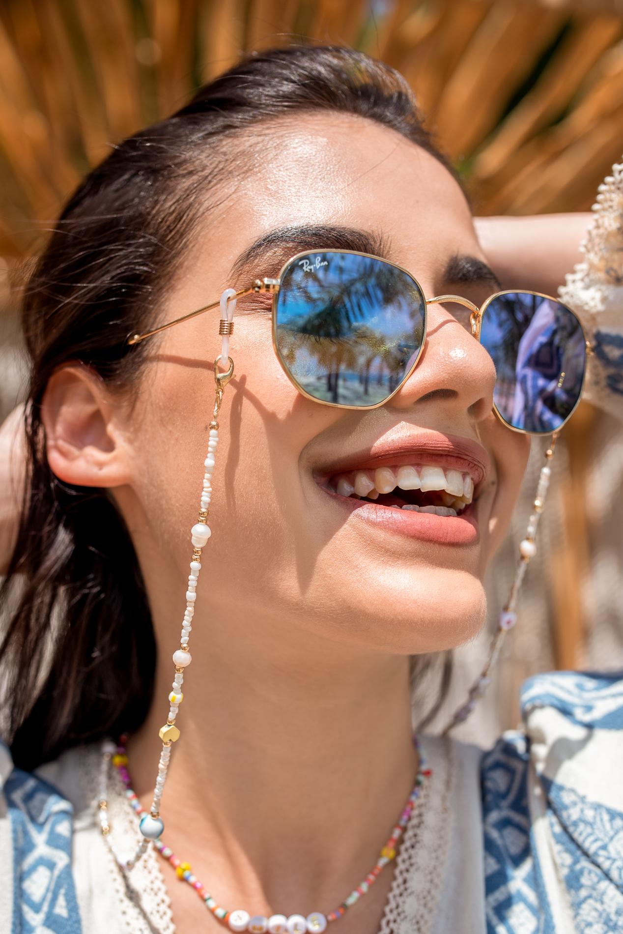 Верижка за очила HAPPY