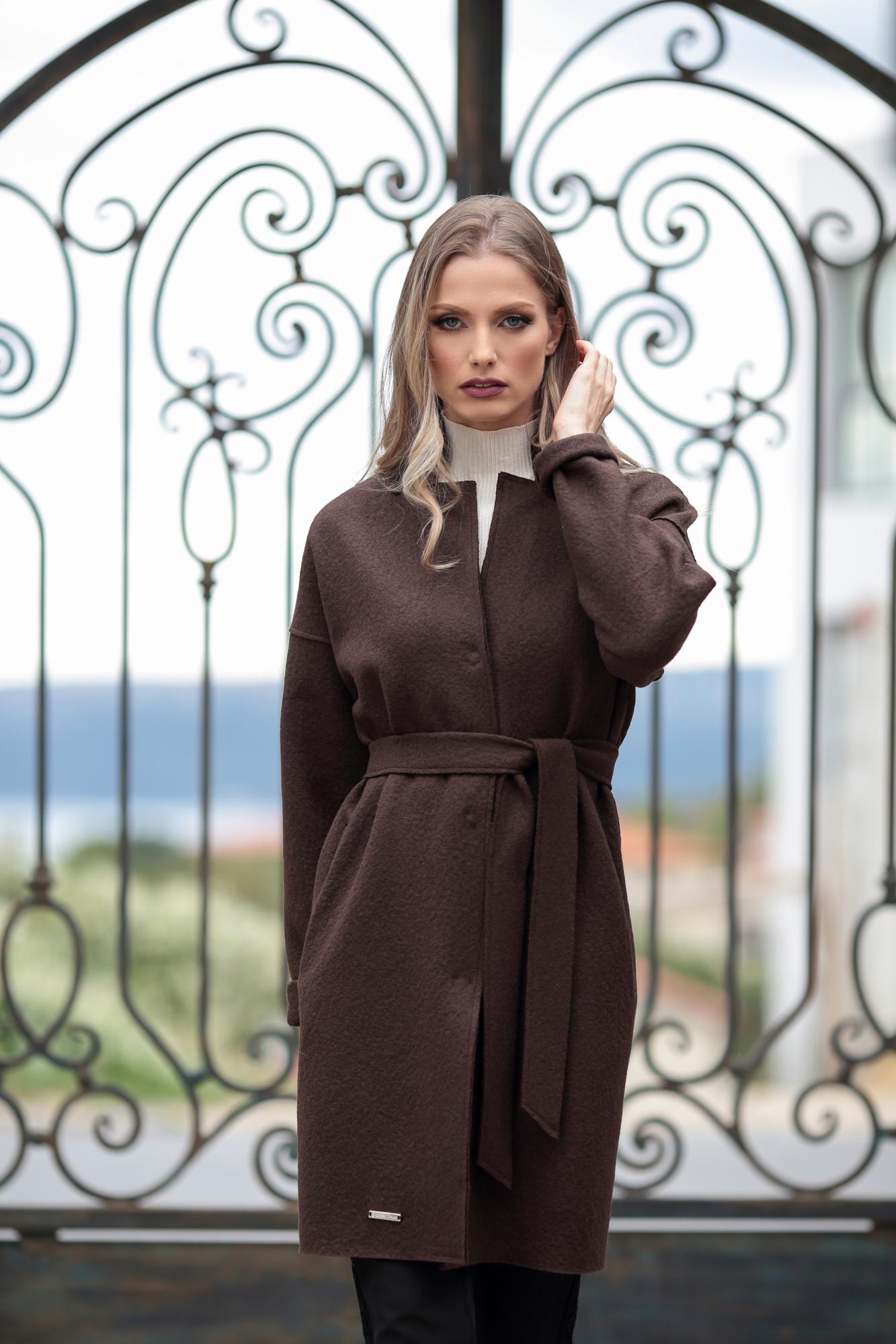 Палто Brown Trench Coat