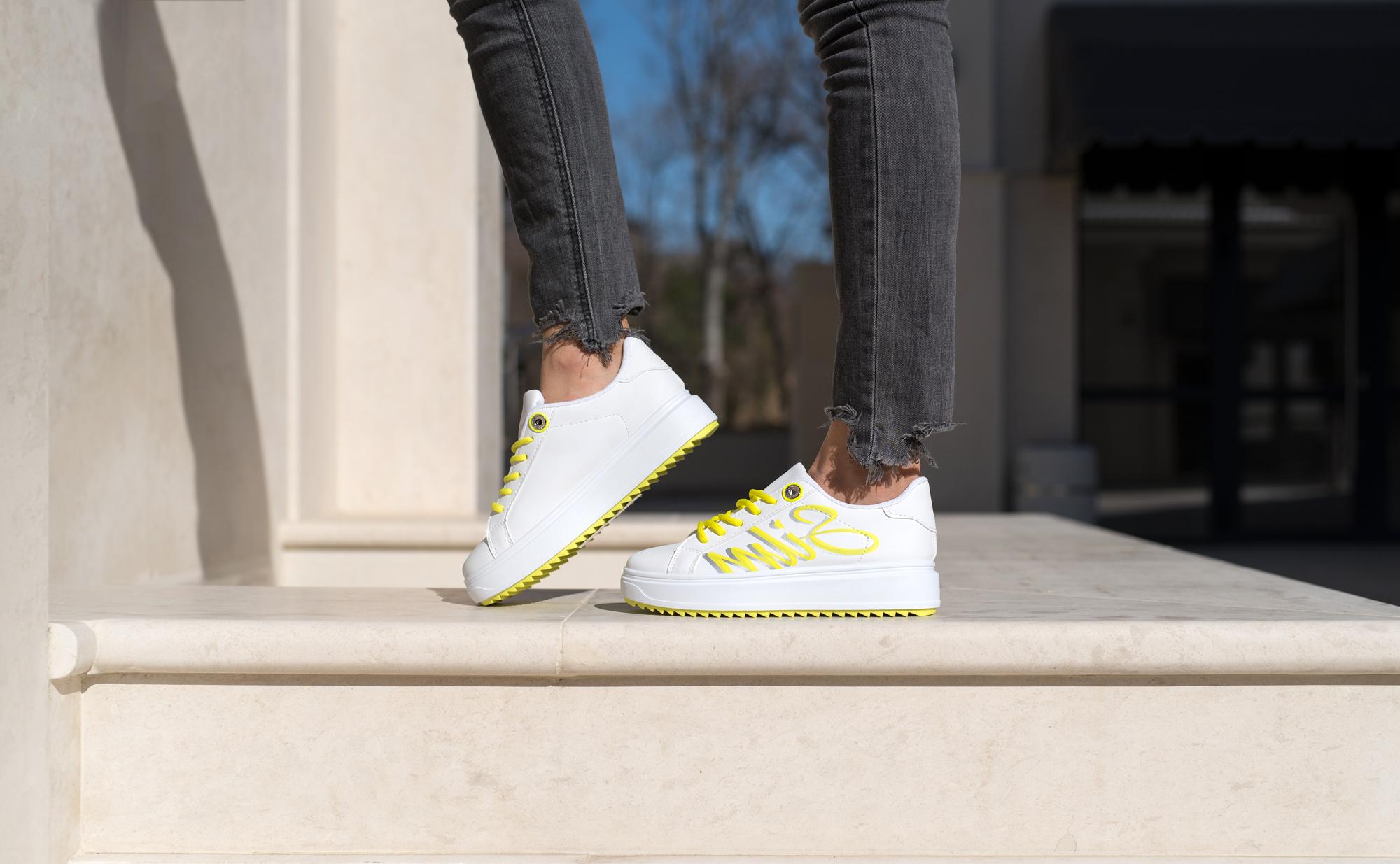 Сникърси SILM - Yellow Neon