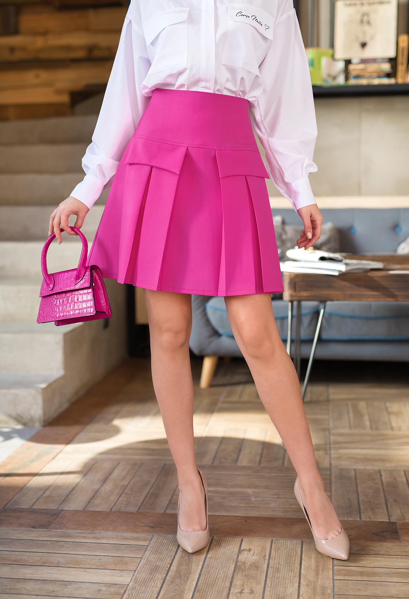 Пола Pink wool