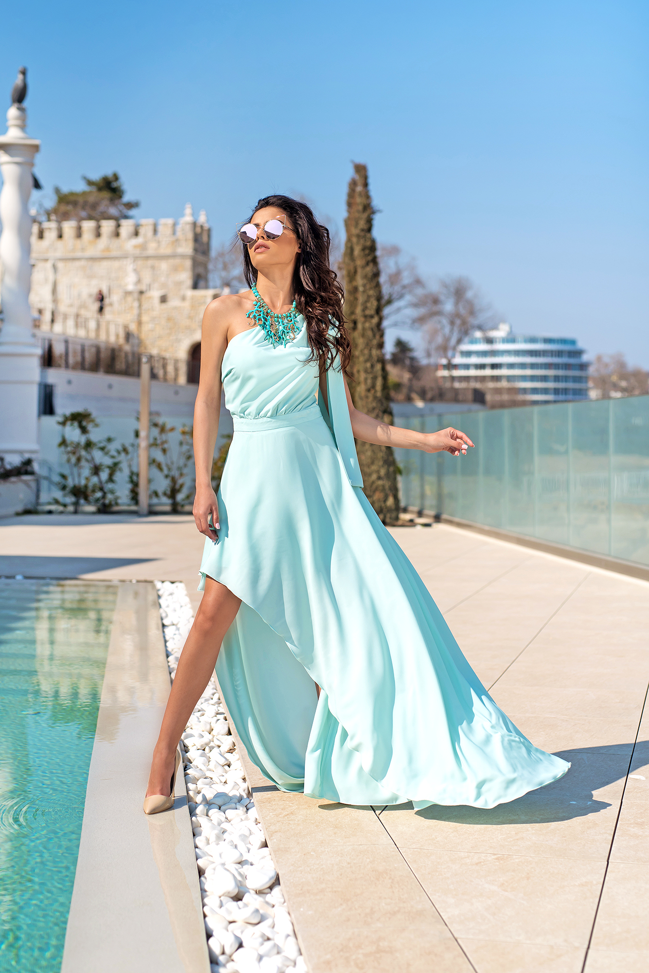 Рокля OCEAN BREEZE (luxury edition)