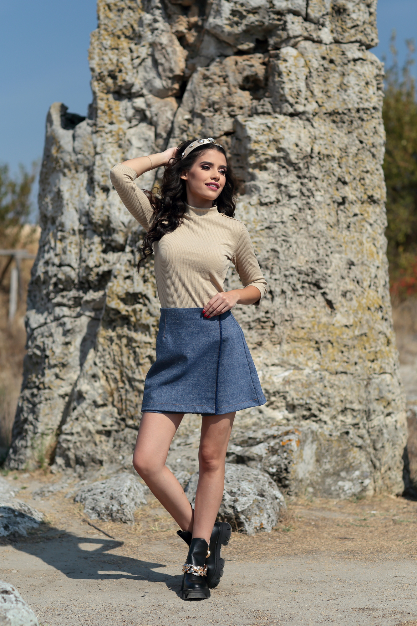 Блуза Beige Soft