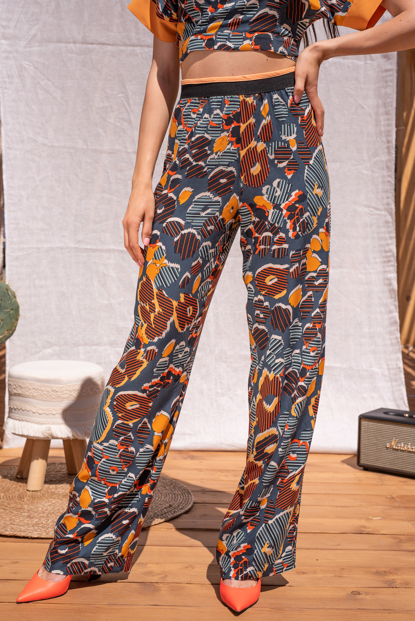 Панталон Boho print