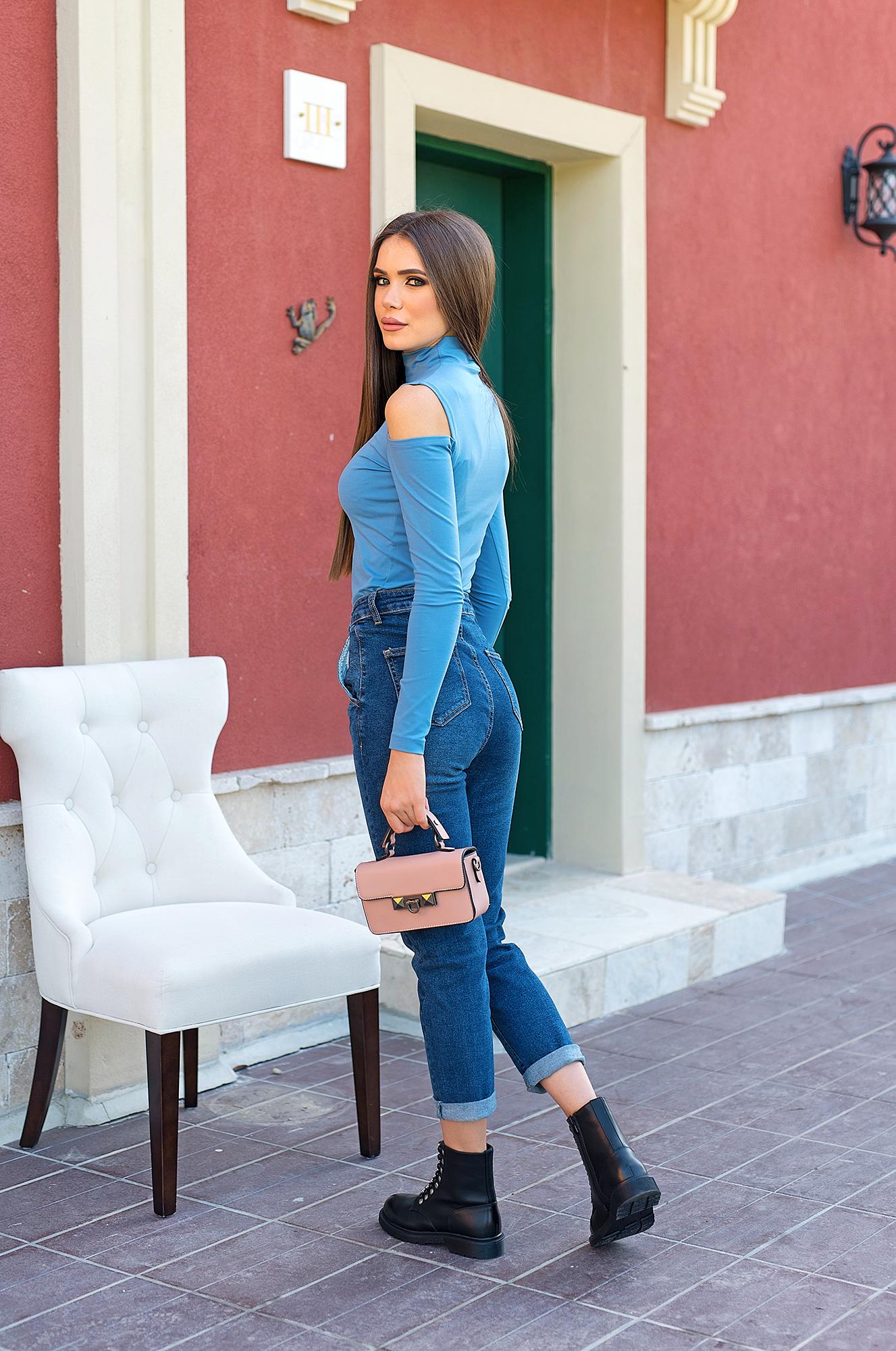 Блуза BLUE CHIC от италиански памук