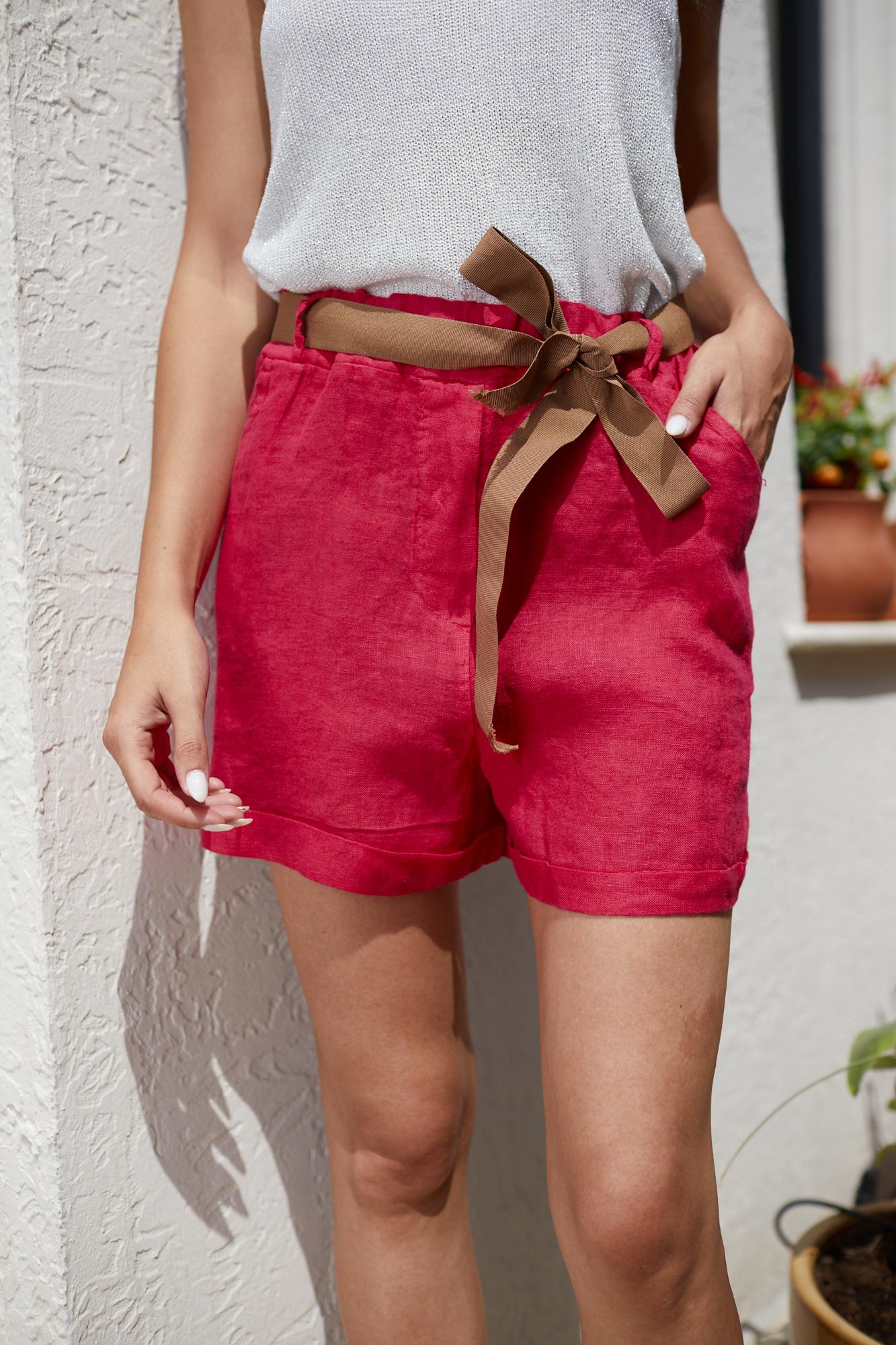 Панталонки от лен CYCLAMEN