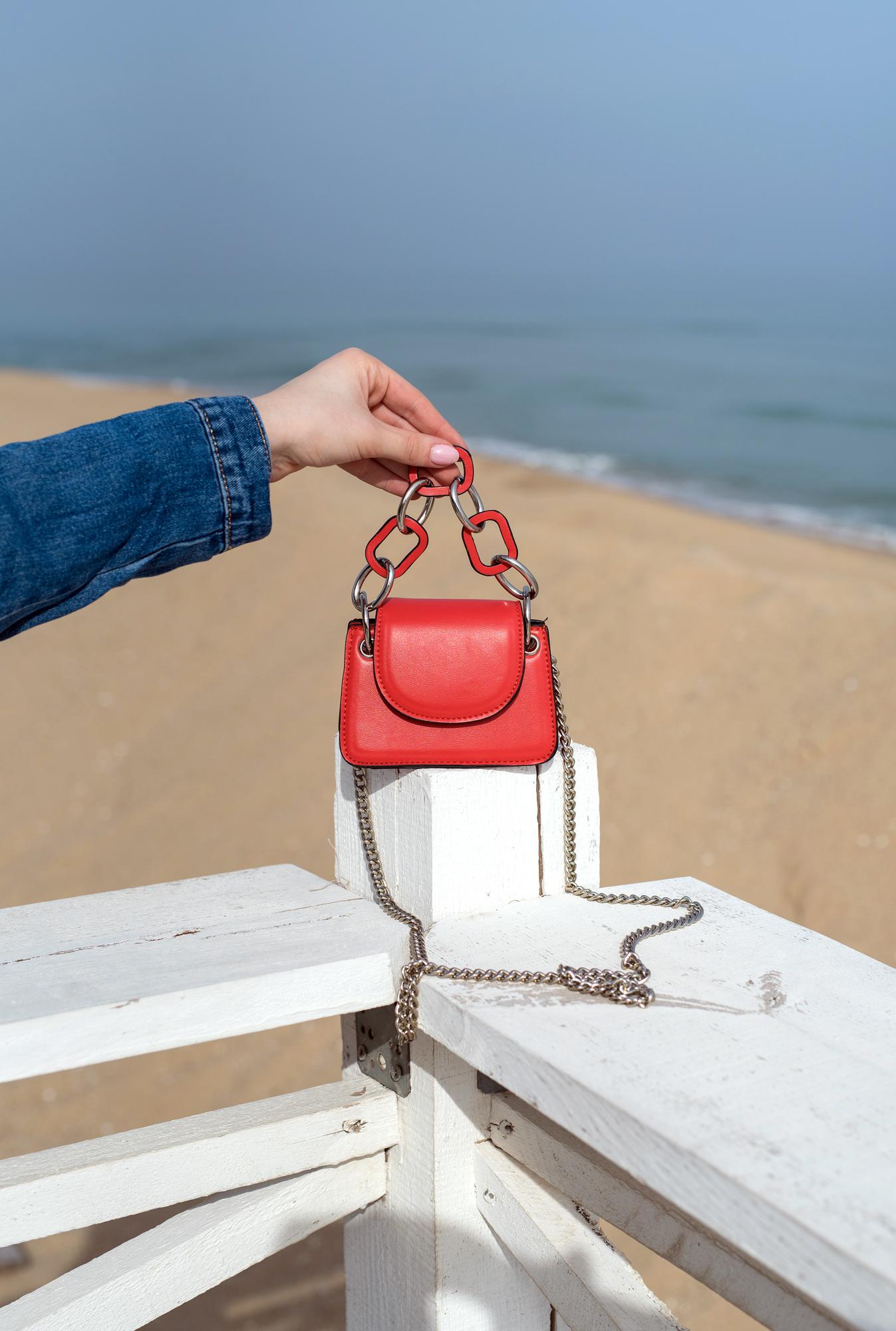 Мини чанта RED