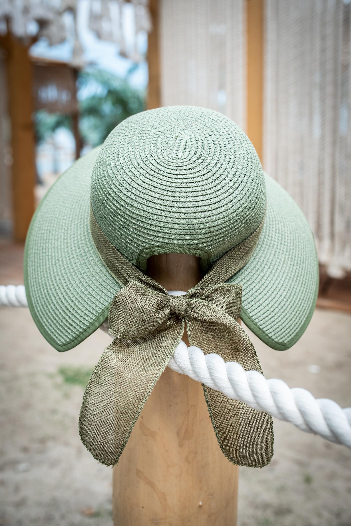 Плажна шапка Green Bow
