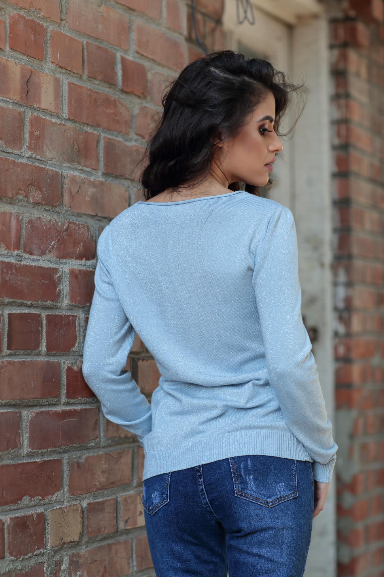 Блуза SKY BLUE