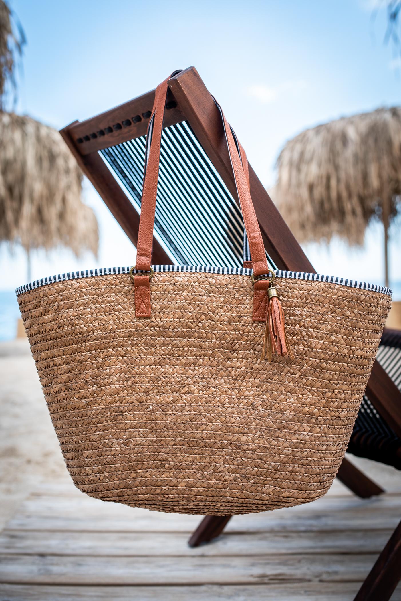 Плажна чанта BROWN LUXURY