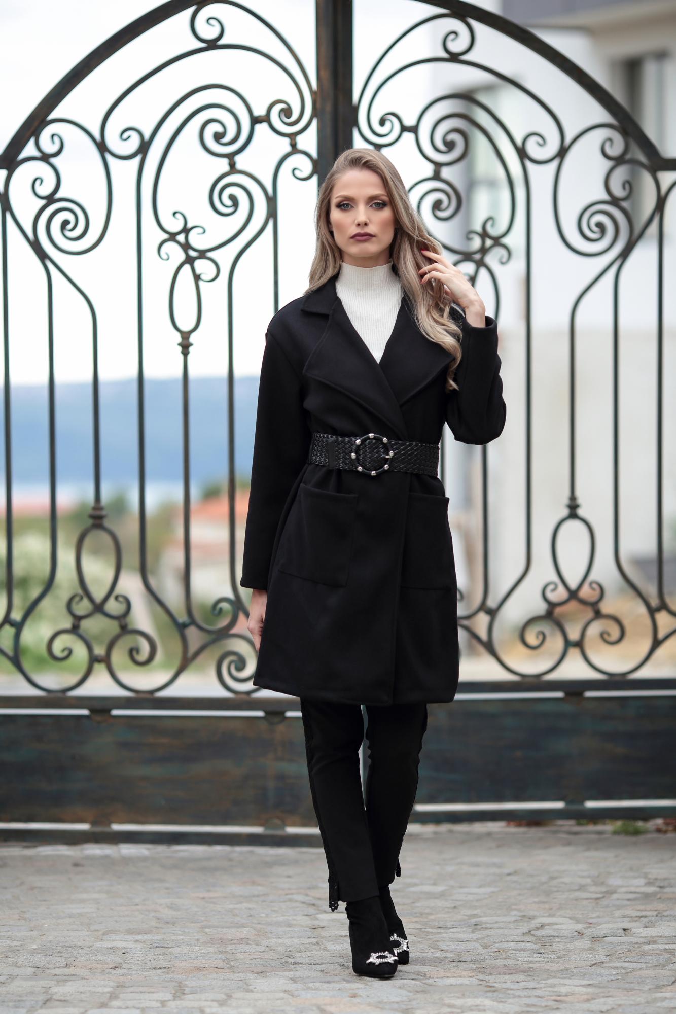 Палто BLACK IRIS
