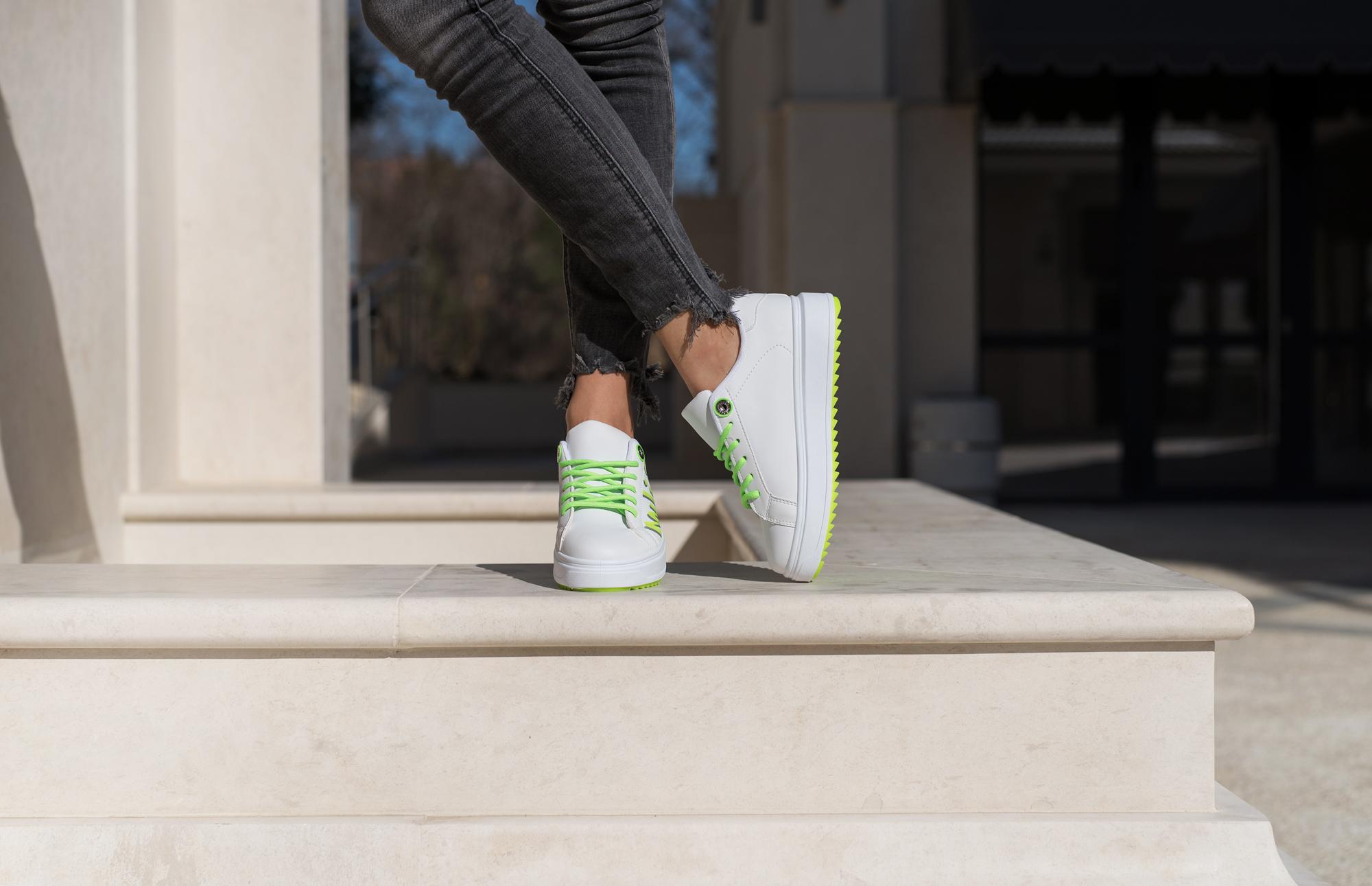 Сникърс SILM - Green Neon