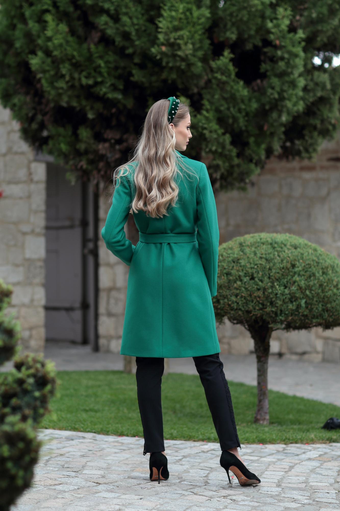 Палто GREEN WOOL