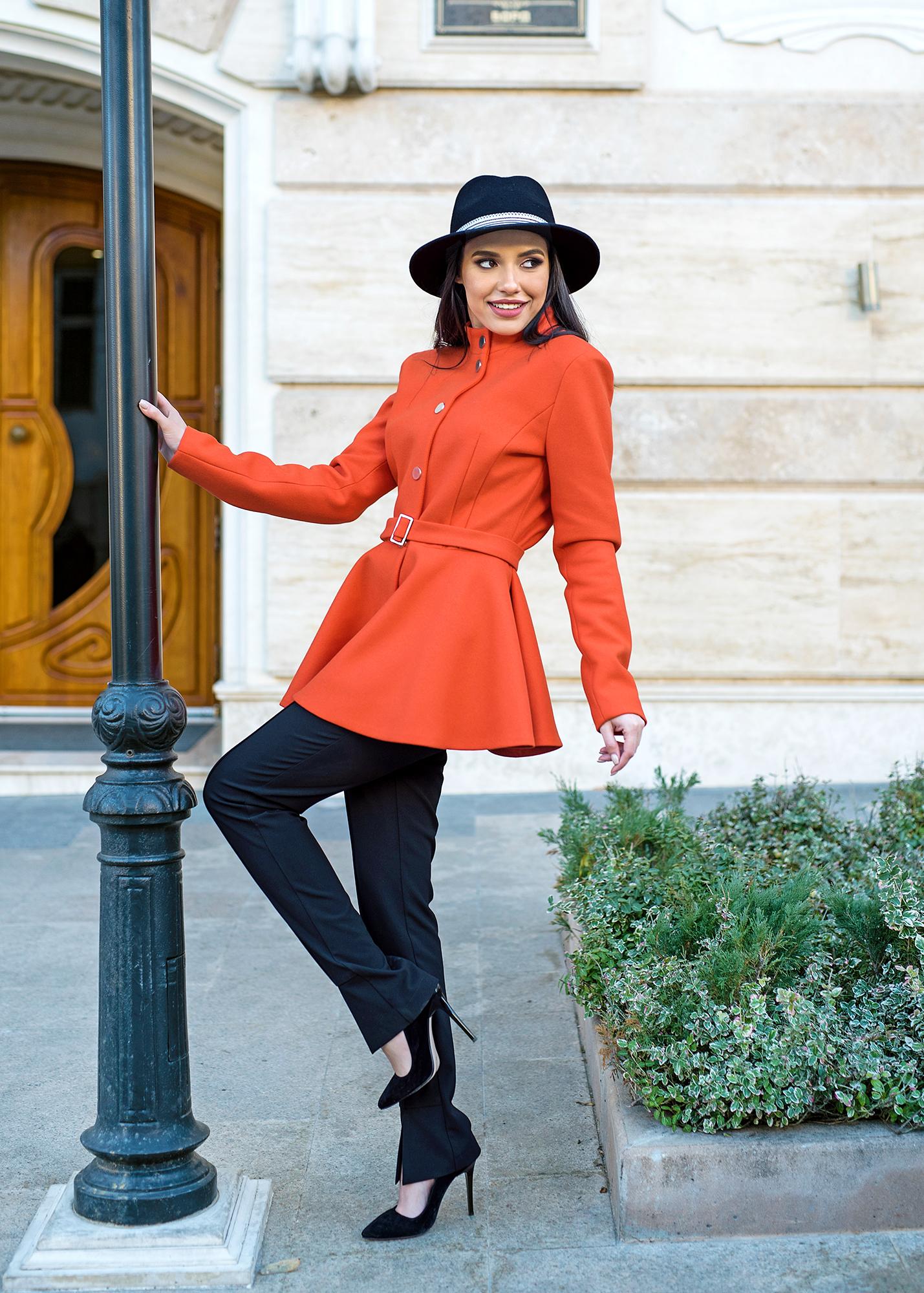 Палто Spring Orange