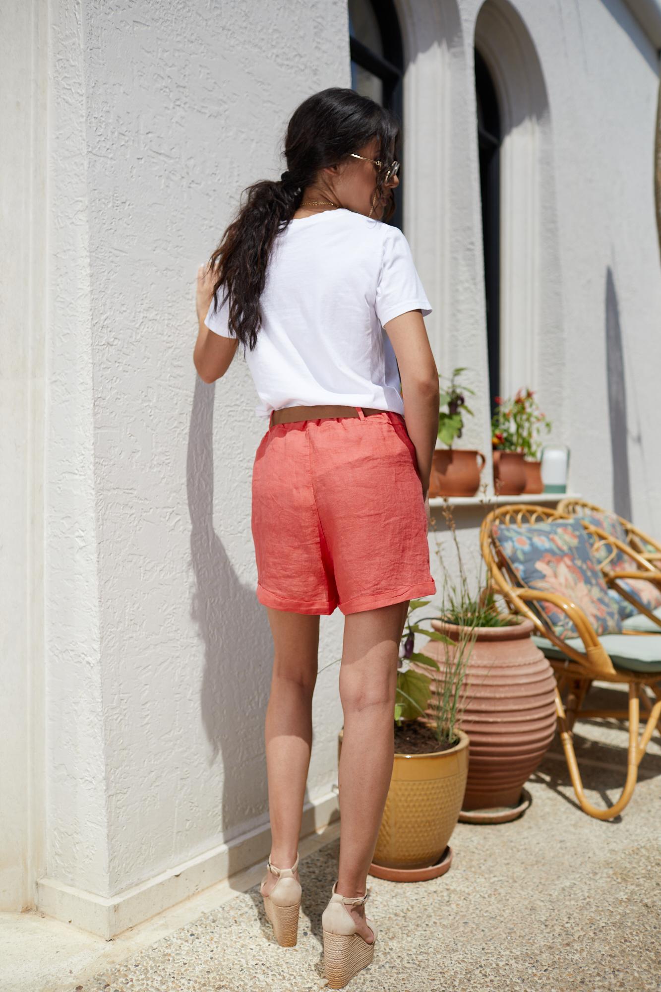 Панталонки от лен CORAL